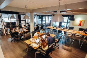 A nice tip to optimize your coworking space could be to allot 70%-80% to seats and private cabins and other 20%-30% to other areas that do not directly generate revenue.