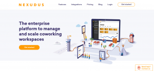 Another popular coworking software used in workspaces all over the world is Nexudus software.
