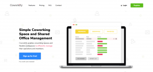 Coworkify is a popular coworking software that portrays the practical and simplistic Japanese approach to coworking with a user-friendly design.