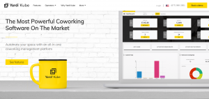 KUBE is a coworking software that has a suite of tools that are used for space management.