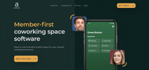 Andcards is a coworking management software that is relatively new.