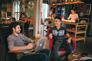 Coworking space is an area where like-minded individuals from different backgrounds and work cultures come together to work, sharing and imparting knowledge in the process.