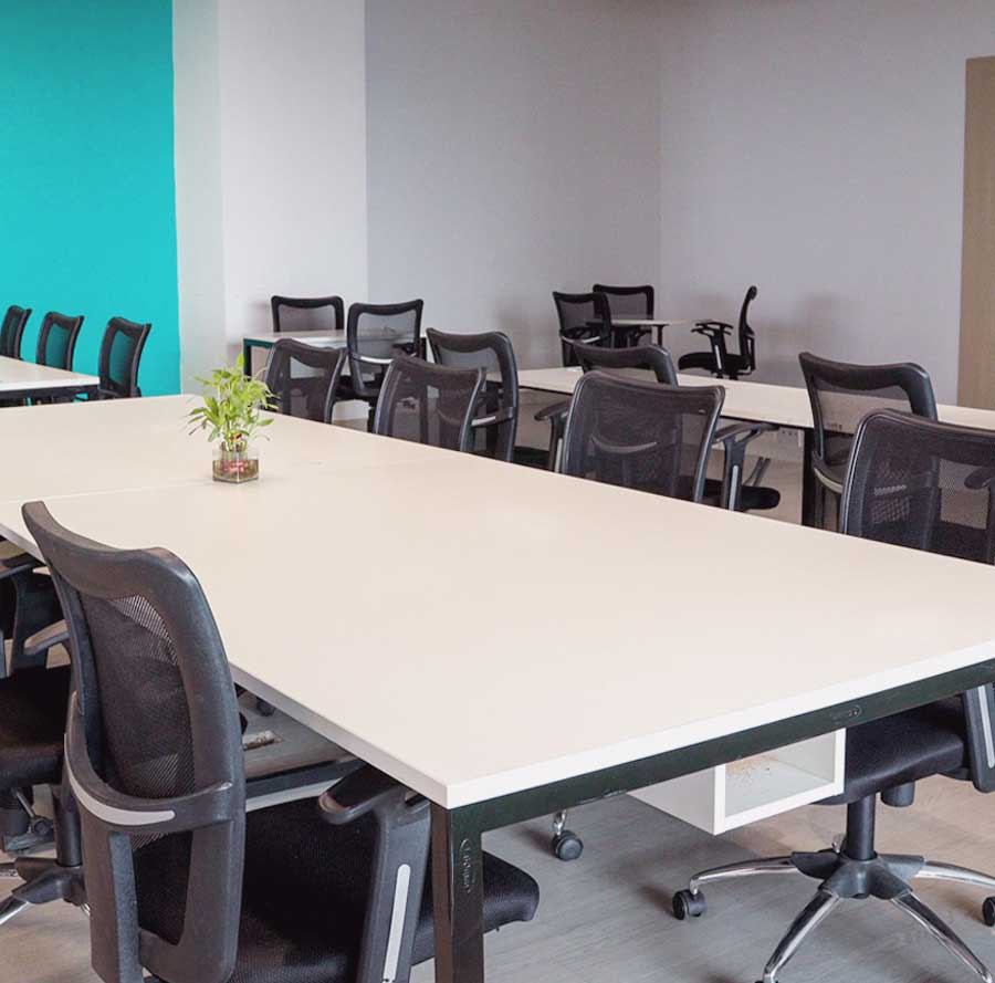 Coworking space dedicated seats