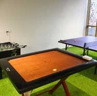 Workstreet play area with Carrom